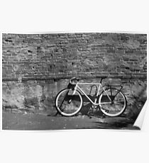 The B&W Fixie Poster