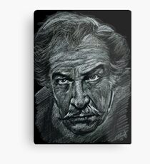 Vincent Price Metal Print