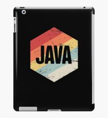Retro Java Programming Language Icon iPad Case/Skin