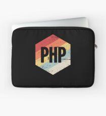 Retro PHP Programming Language Icon Laptop Sleeve