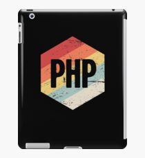 Retro PHP Programming Language Icon iPad Case/Skin