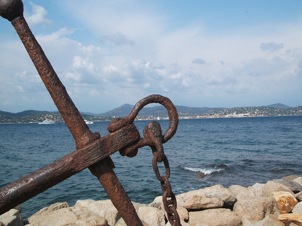 Anchor St Tropez by HelenK