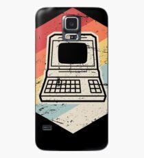 Vintage Retro Computer Icon | Computer Nerd Design Case/Skin for Samsung Galaxy