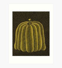 Pumpkin Art Print