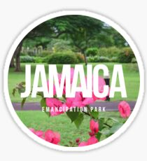 Emancipation Park, Jamaica Sticker