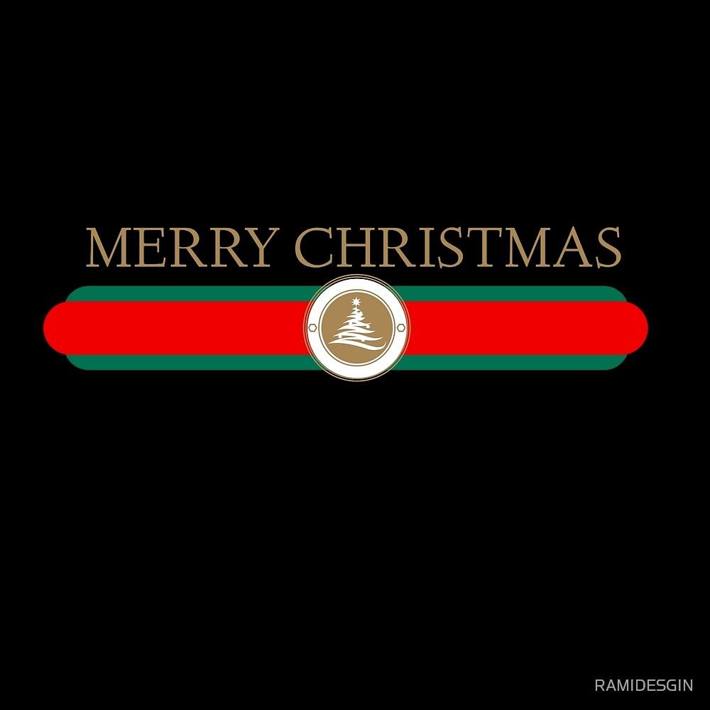 Merry Christmas Shirt Design logo by RAMIDESGIN
