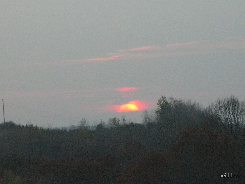Sun down by heidiboo