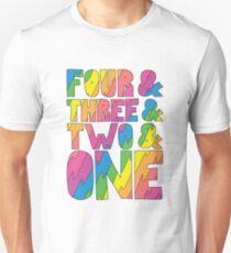 Broad City Intro Countdown Slim Fit T-Shirt