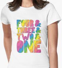 Camiseta entallada para mujer Broad City Intro Countdown