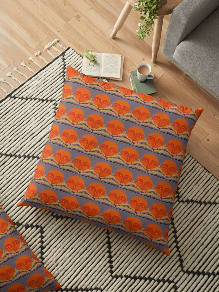 'Celestial 2016 #4' Floor Pillow
