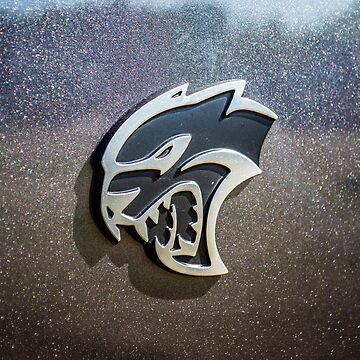 Dodge Hellcat emblem  by earth2sd