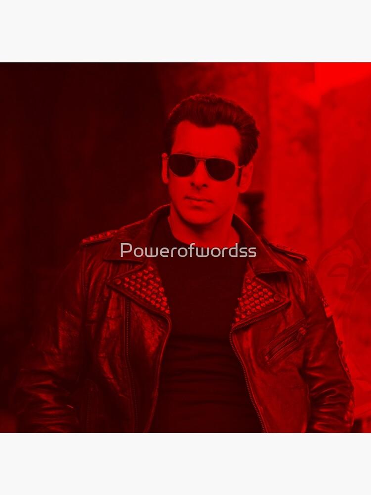 Salman Khan - Berühmtheit von Powerofwordss