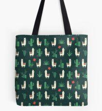 Fleece Navidad & Cactus Tote Bag
