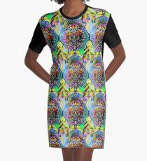 Psytrance Incarnation  Graphic T-Shirt Dress