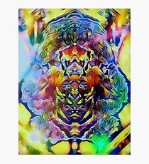 Psytrance Incarnation  Photographic Print