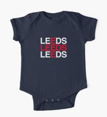 LEEDS Short Sleeve Baby One-Piece