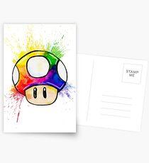Exploding Mushroom Postcards