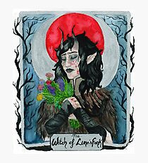The Witch of Luna's Fork Photographic Print