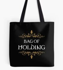 Bag of Holding Tabletop RPG Addict Tote Bag