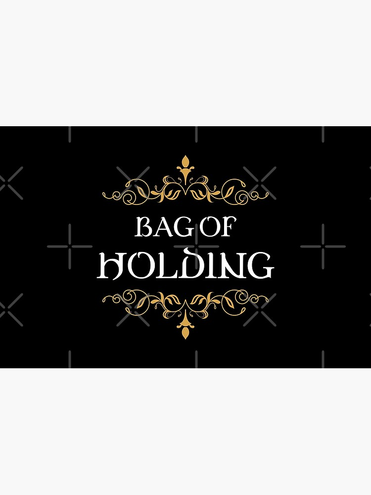 Bag of Holding Tabletop RPG Addict by pixeptional
