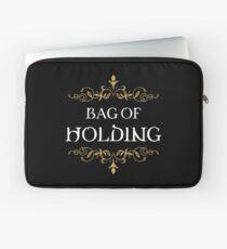 Bag of Holding Dungeons Crawler and Dragons Slayer Inspired Laptop Sleeve
