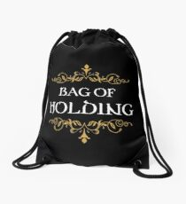 Bag of Holding Dungeons Crawler and Dragons Slayer Inspired Drawstring Bag