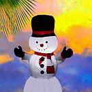 I'm a San Diego Snowman!  by Heather Friedman