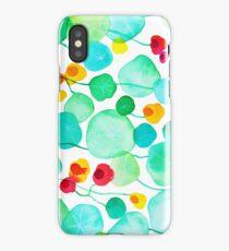 nasturtiums iPhone Case/Skin