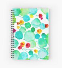 nasturtiums Spiral Notebook
