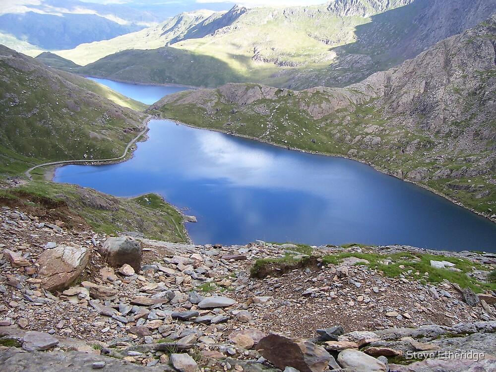 Snowdon North Wales by Steve Etheridge