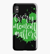 capture each moment they all precious iPhone Case/Skin