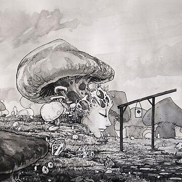 Mushroom Queen by tokimonster