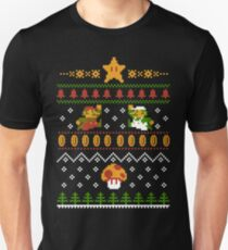Mario Christmas Slim Fit T-Shirt