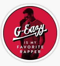 G-Eaz- Favorite Rapper Sticker