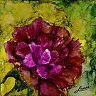 Maroon Hydrangea by tinymystic