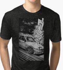 Initial D Toyota AE86 Drifting Tri-blend T-Shirt