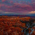 Sunset Over Bryce Canyon by photosbyflood