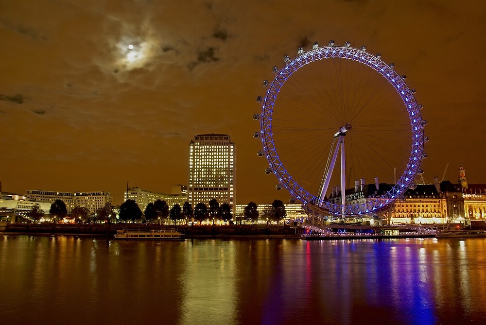 London Eye by ludek