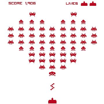 heart invaders by tisalice