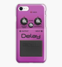 Boss Delay Pedal iPhone Case iPhone Case/Skin