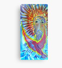Cosmic Christ Metal Print
