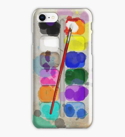 Artists Used Painting Set iPhone Case iPhone Case/Skin
