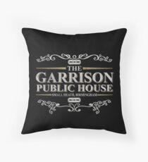 The Garrison Public House, Small Heath, Birmingham Throw Pillow