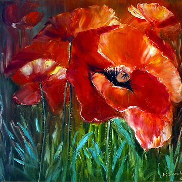 Poppies  by Danguole