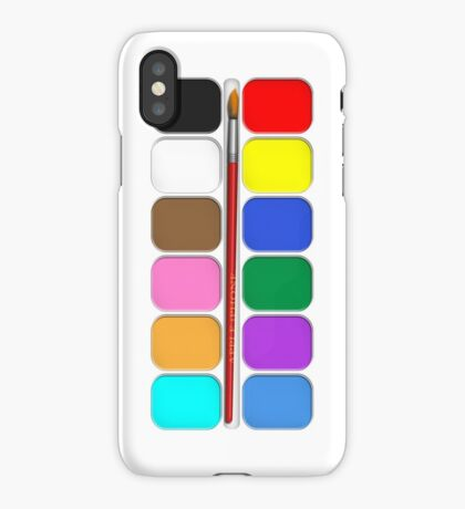 Artists Painting Set iPhone Case iPhone Case