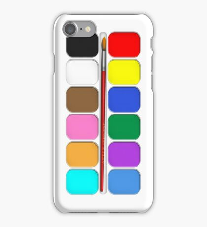 Artists Painting Set iPhone Case iPhone Case/Skin
