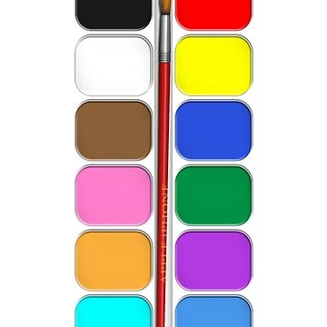 Artists Painting Set iPhone Case by abinning