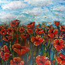 Sunshine and Poppies by Cheryle  Bannon