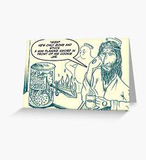 God's cookie jar Greeting Card