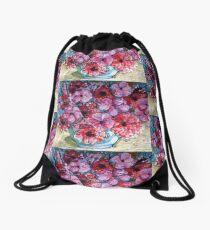 Spring blooms Drawstring Bag
